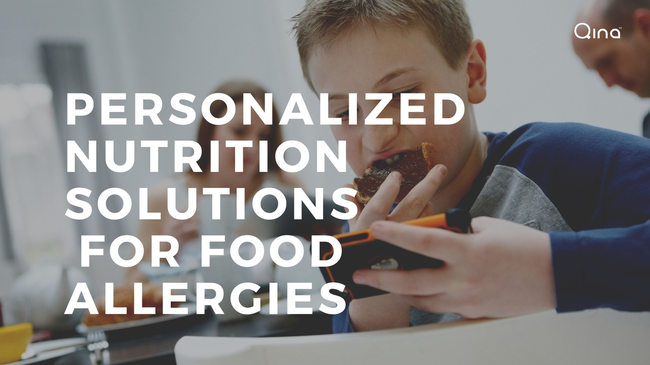 Personalized Nutrition Solutions  for Food Allergies