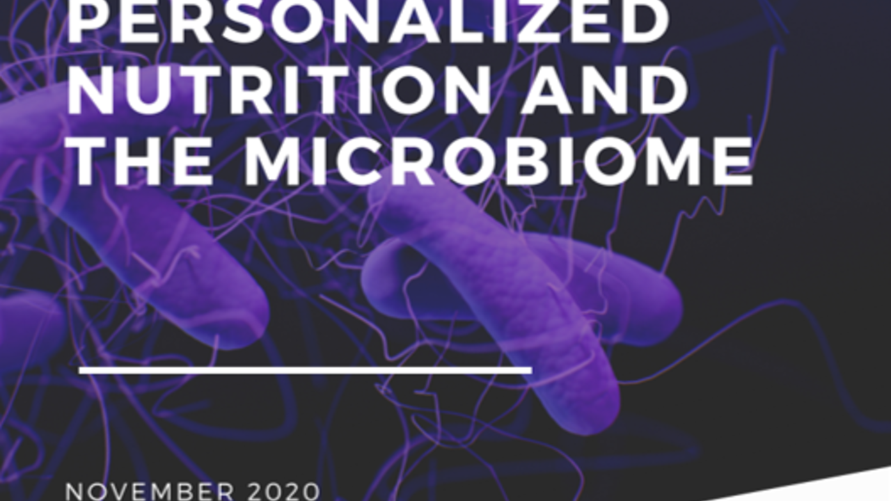 Personalized nutrition and the microbiome- using big data