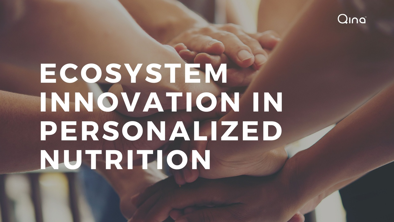 Ecosystem Innovation in Personalized nutrition