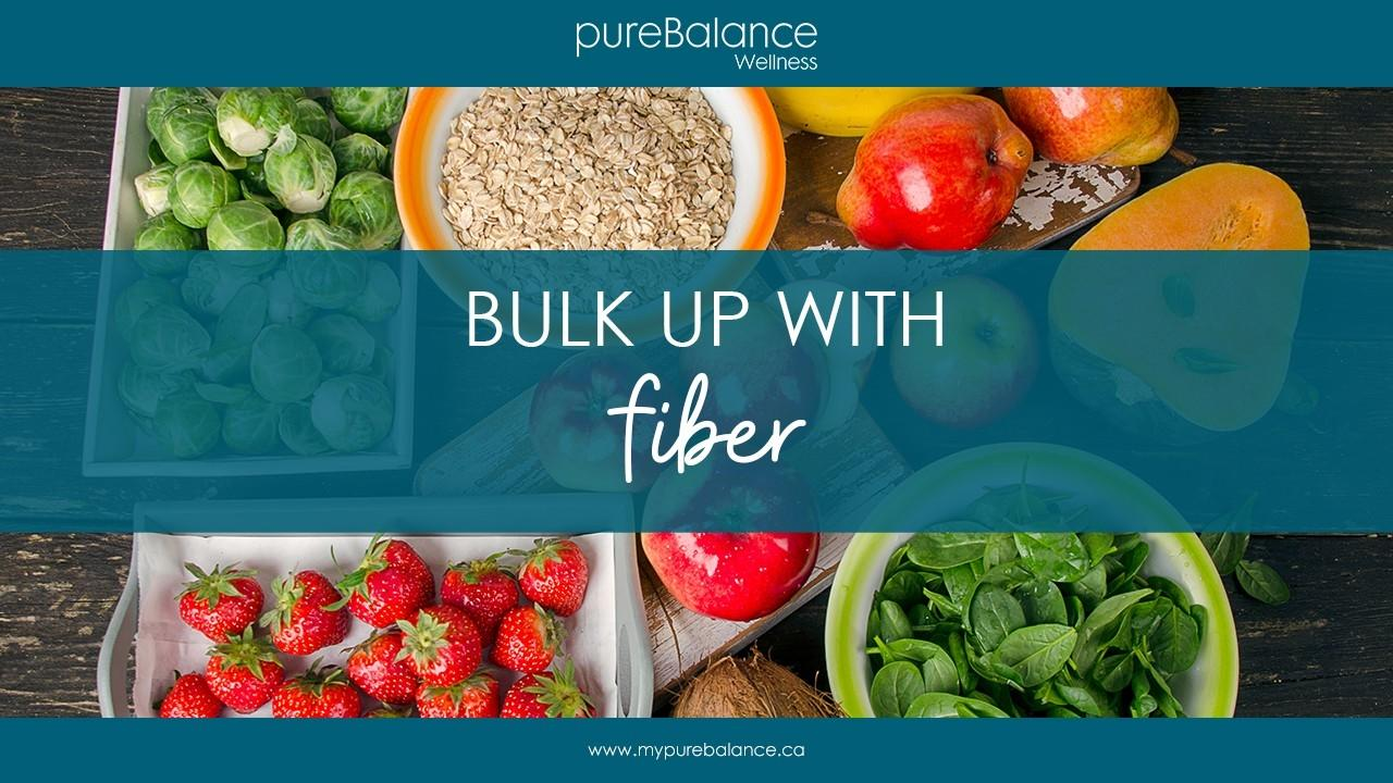 fiber rich foods on a table - Bullk Up With Fiber During A Detox