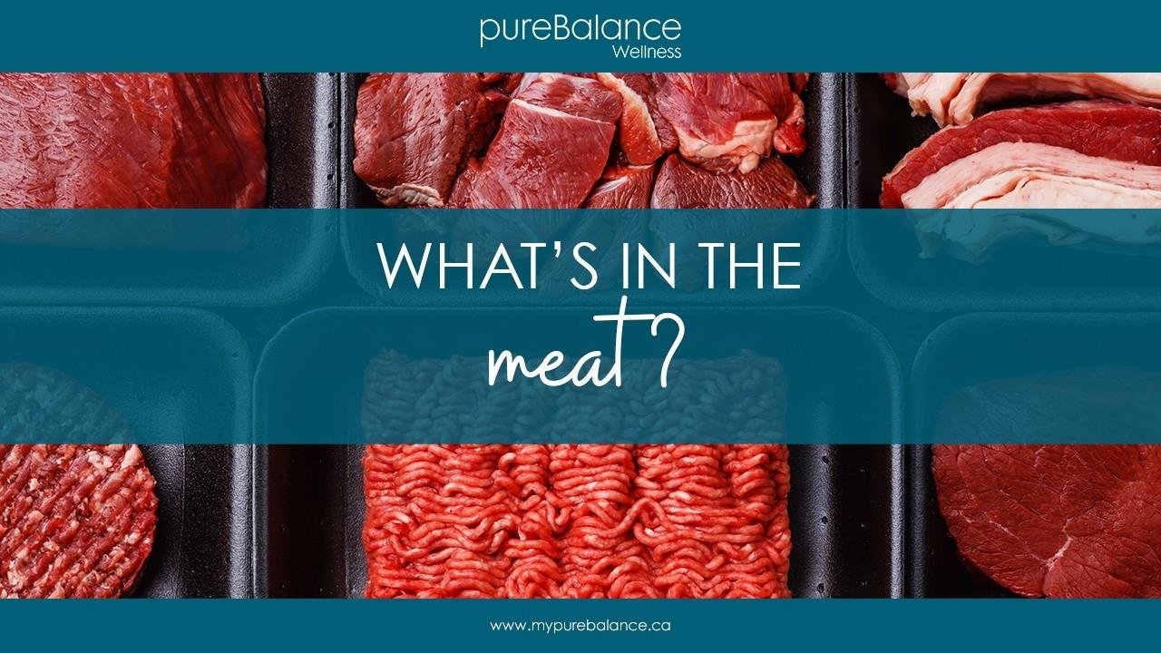raw meat in packaging - What's In The Meat?