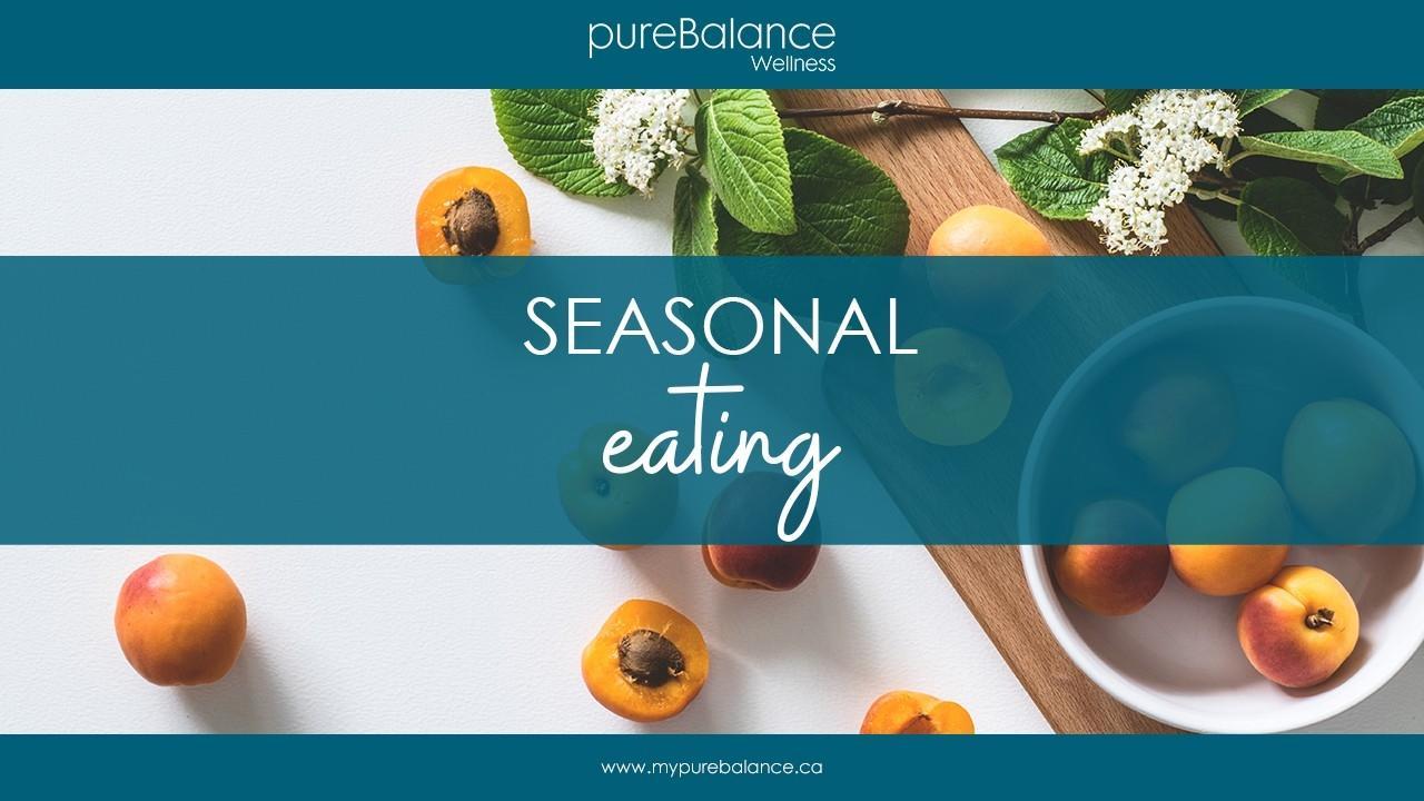 fresh apricots on a table - Seasonal Eating