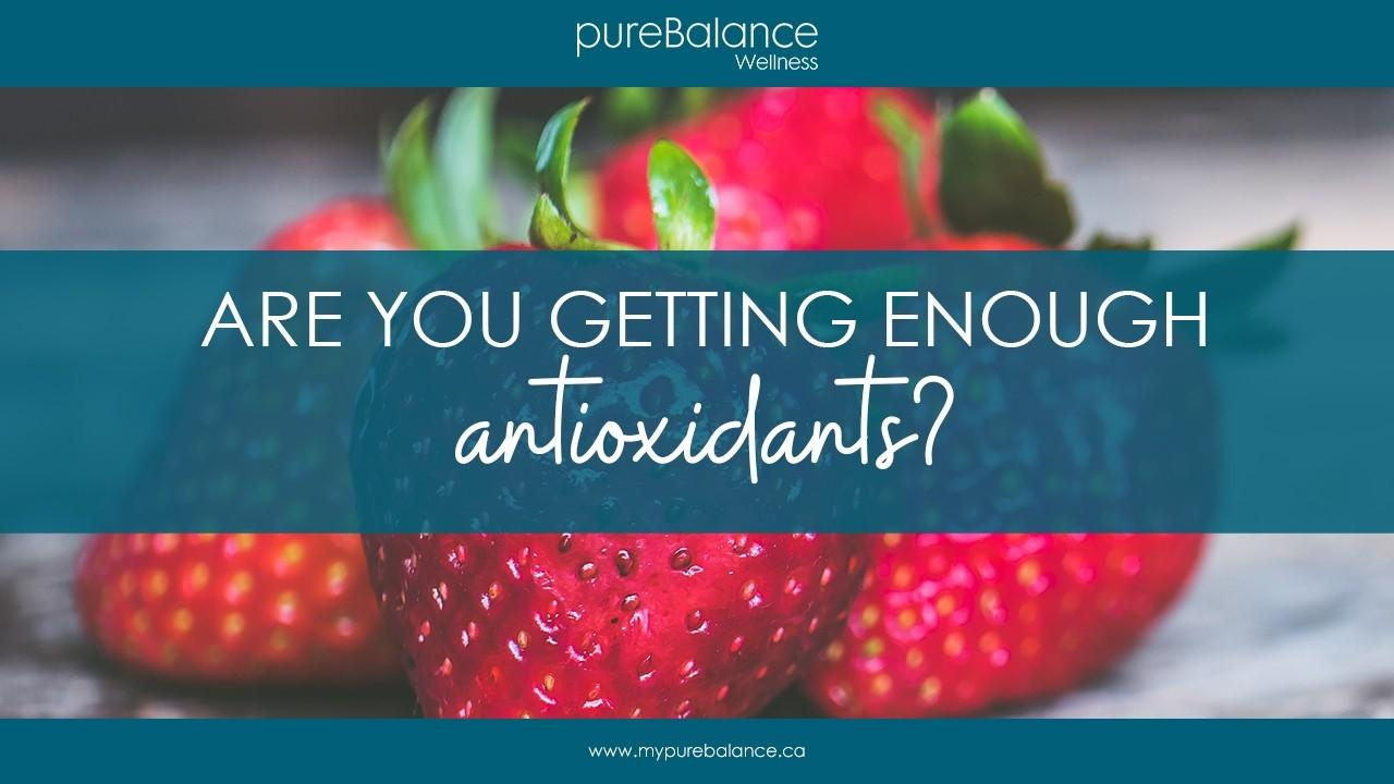 fresh strawberries on a table - Are You Getting Enough Antioxidants?