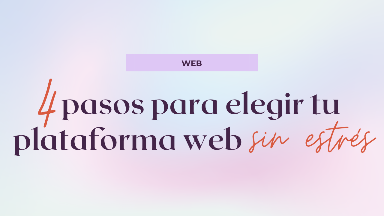 4 Pasos para elegir tu plataforma web mix squarespace wordpress