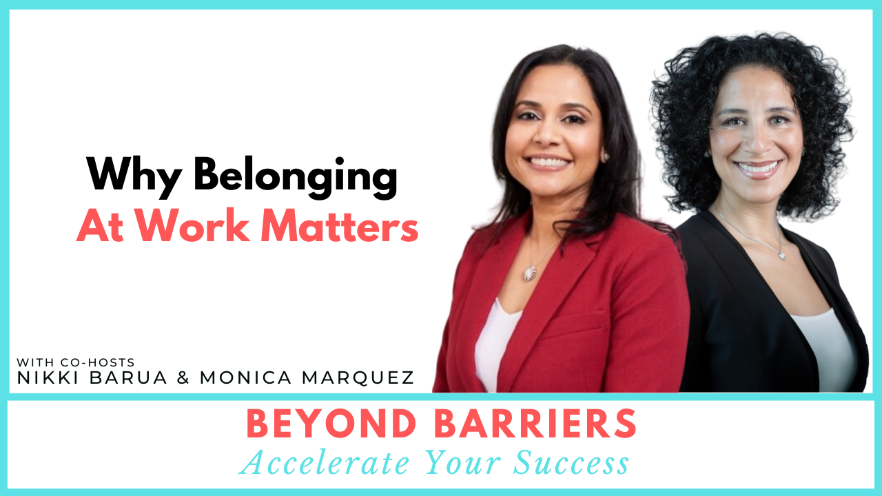 Why Belonging At Work Matters