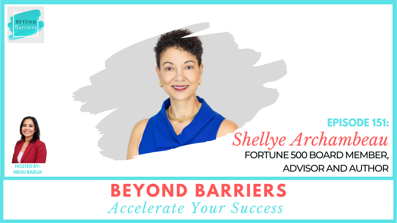 Unapologetically Ambitious with Fortune 500 Board Member Shellye Archambeau