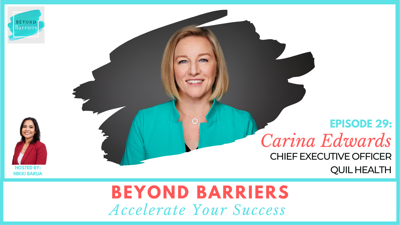 Keep Calm And Carry On With Quil CEO Carina Edwards