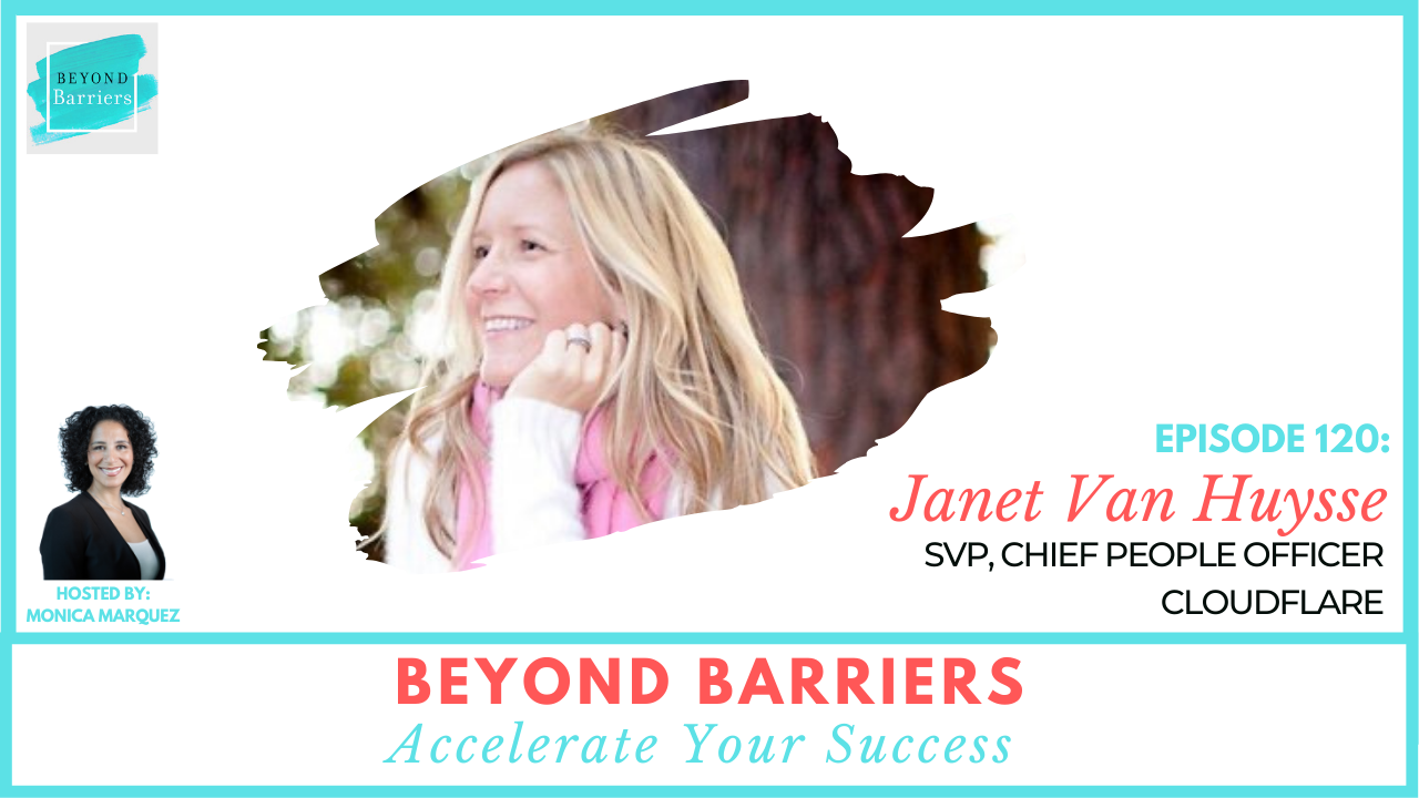 Change Careers And Thrive with Cloudflare's Janet Van Huysse