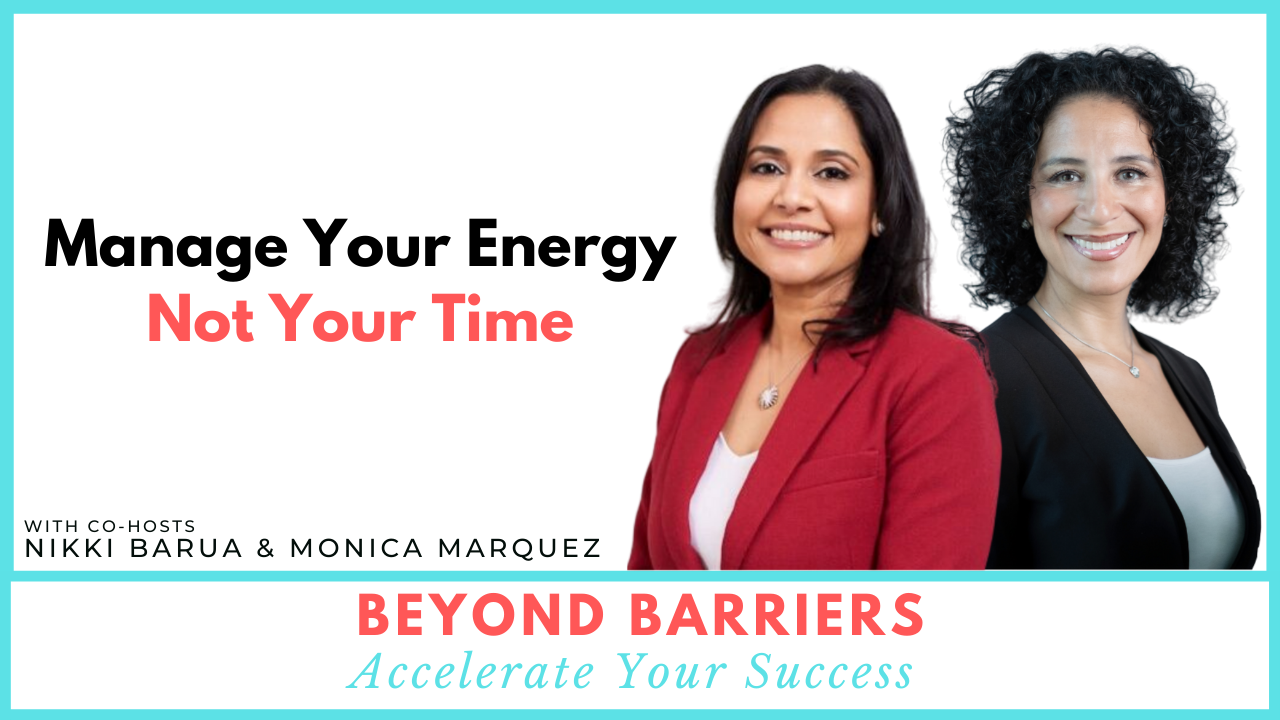 Manage Your Energy Not Your Time