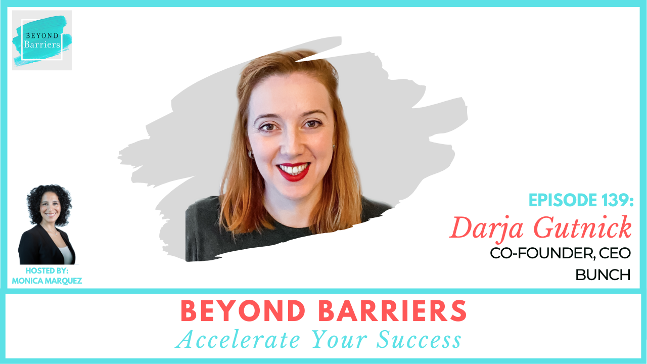 Learning To Lead With Darja Gutnick