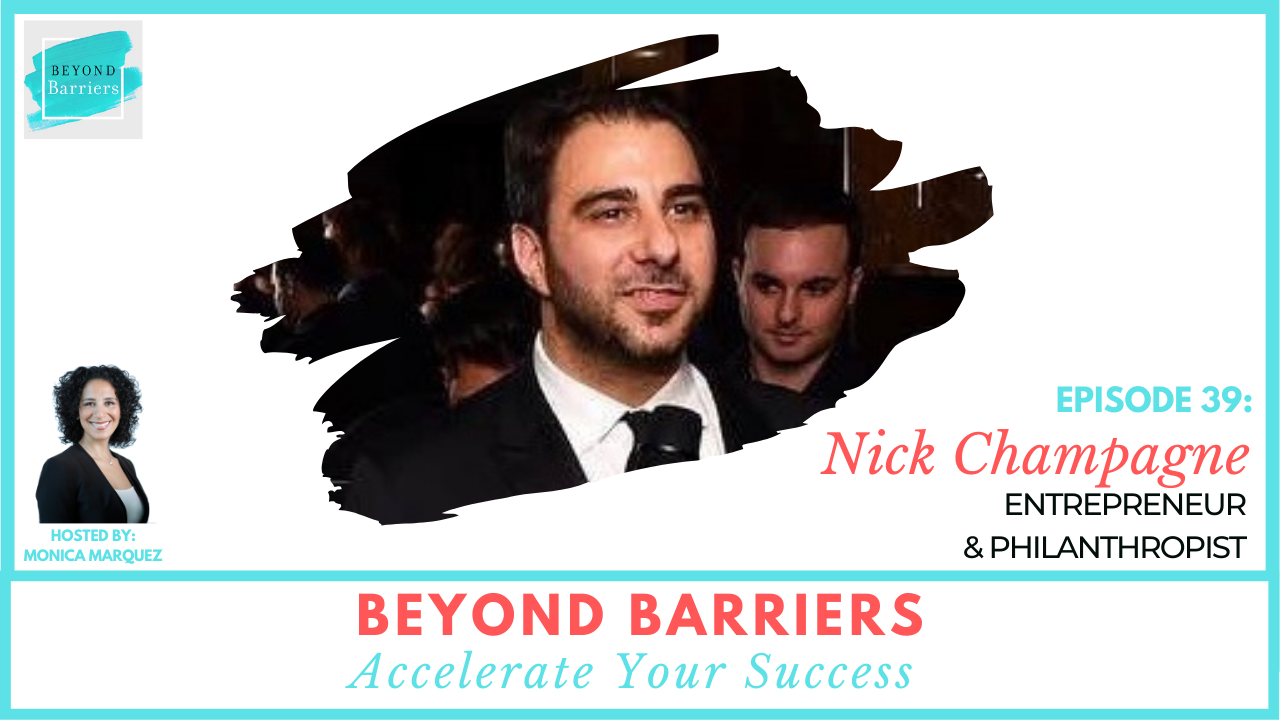 The Secret To Living Is Giving with Nick Champagne