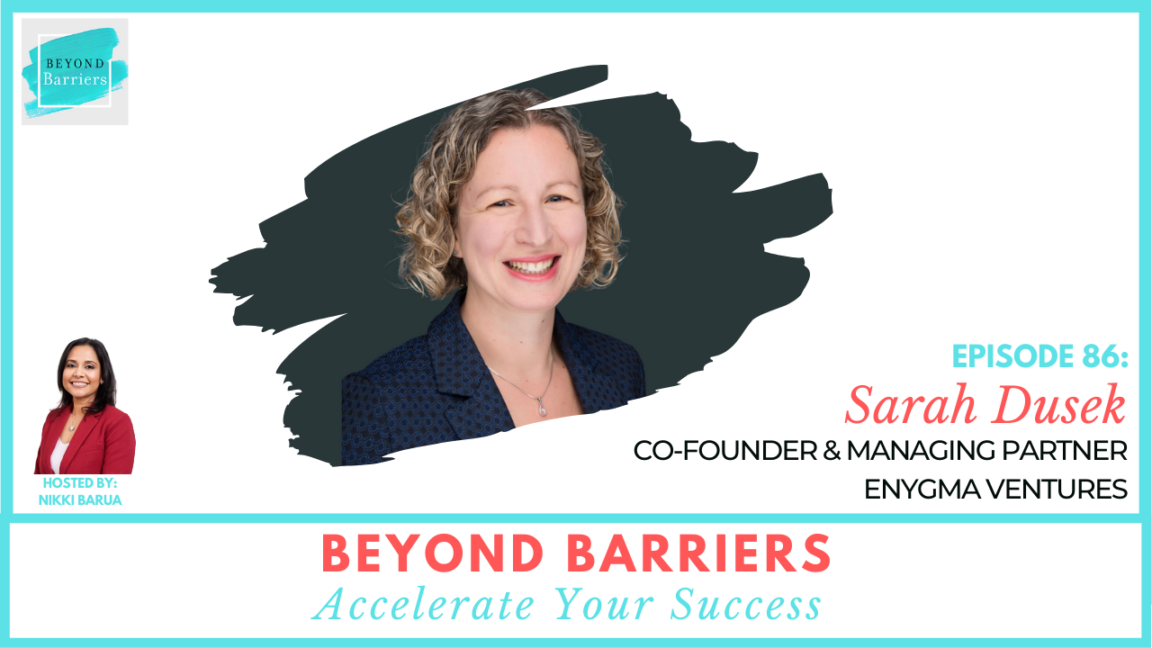 Leading with Purpose and Passion with Enygma Ventures' Sarah Dusek