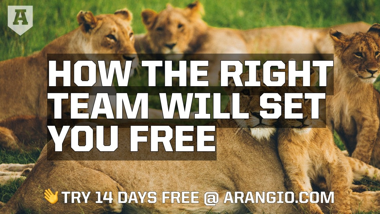 How the Right Team Will Set You Free