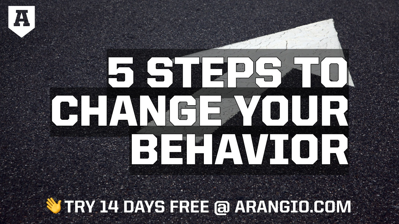 5 Steps to Change Your Behaviors and Beliefs