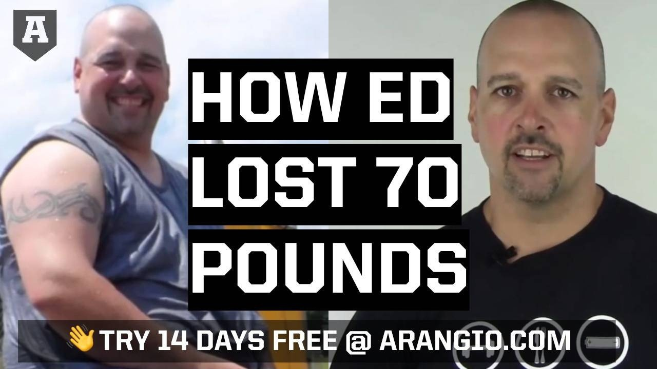 How He Lost 70 Pounds