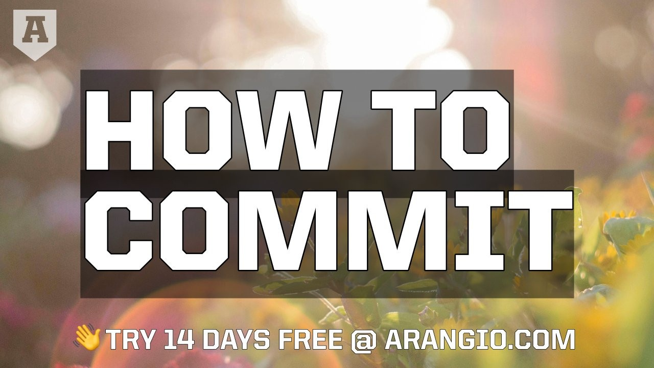 How to Commit