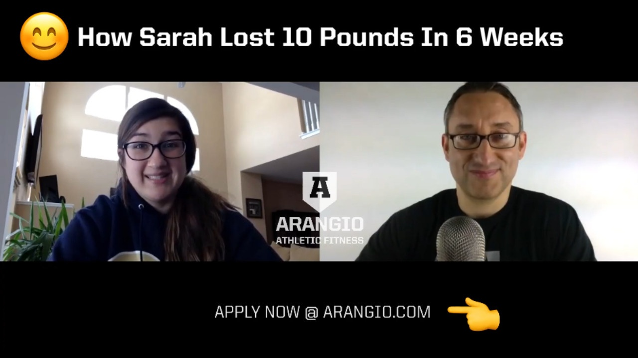 How Sarah Lost 10 Pounds