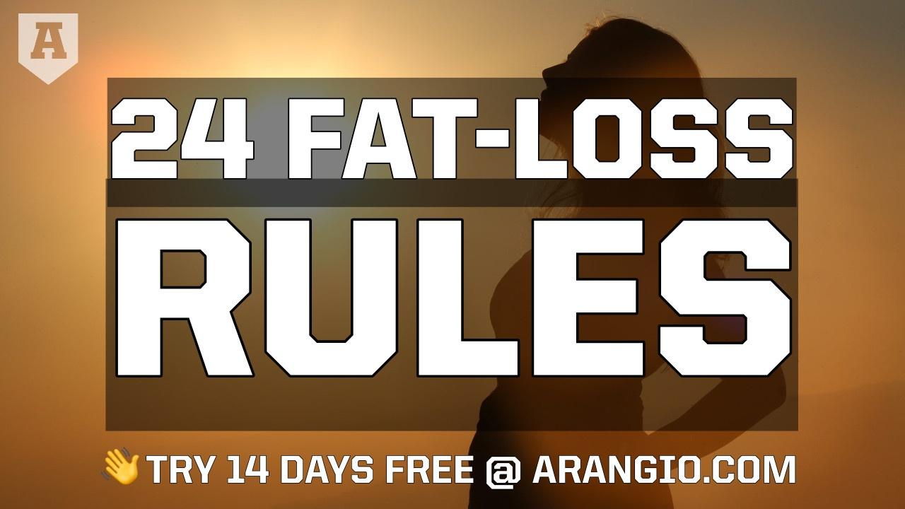 Fat Loss Rules