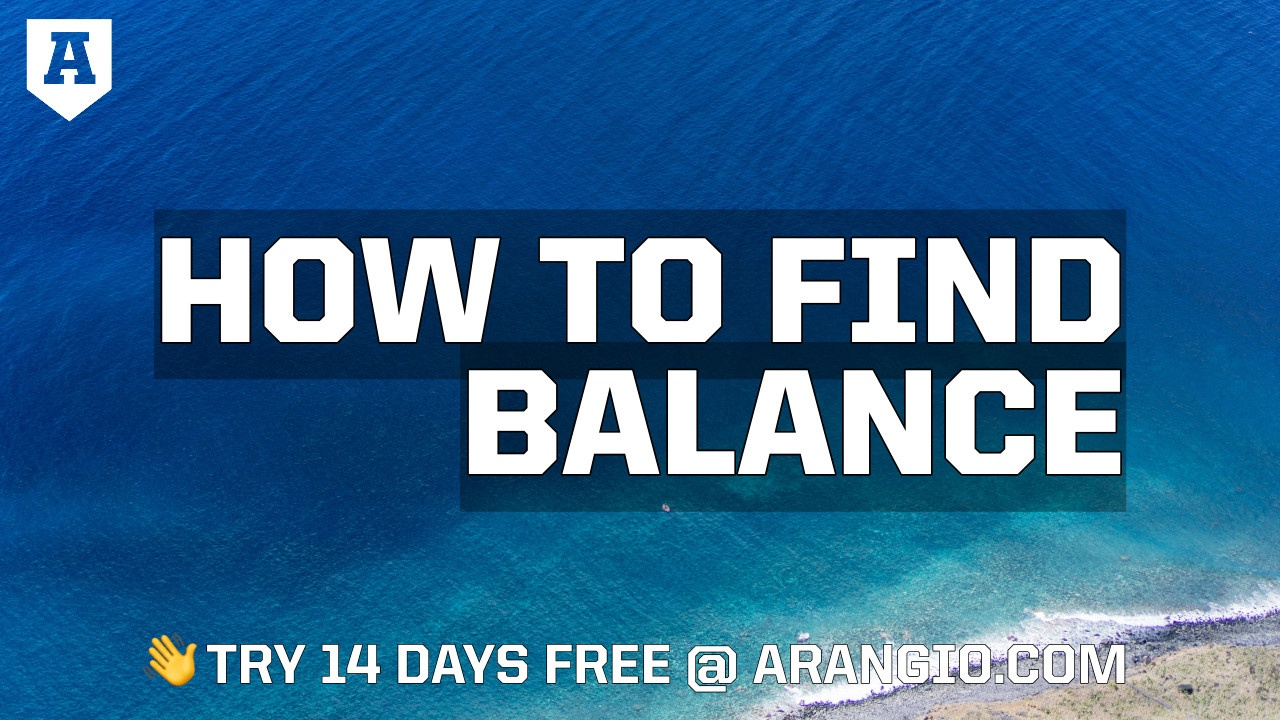 How to Find Balance