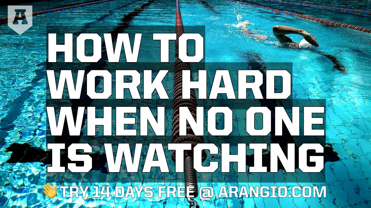 How to Work Hard When No One Is Watching