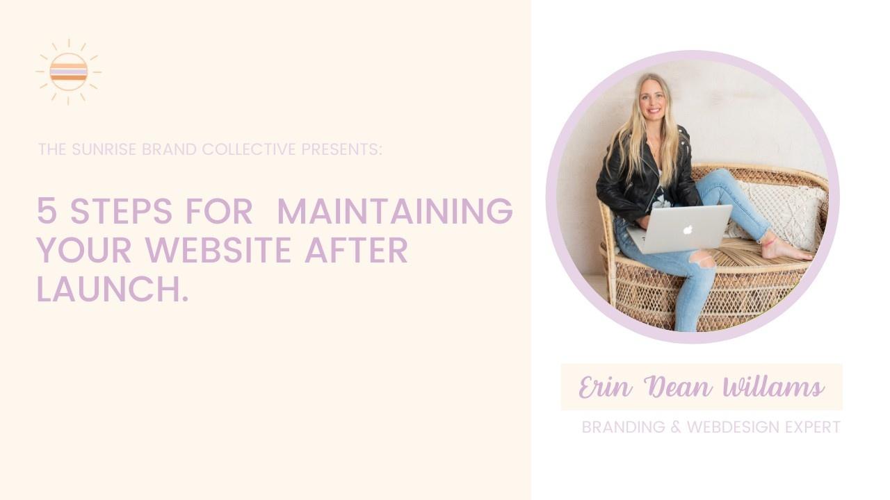 Erin Dean Williams, Brand and Web Design Strategist