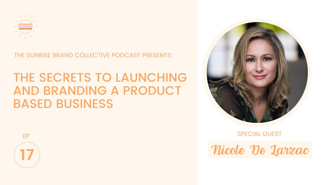 Nicole De Larzac Product Branding