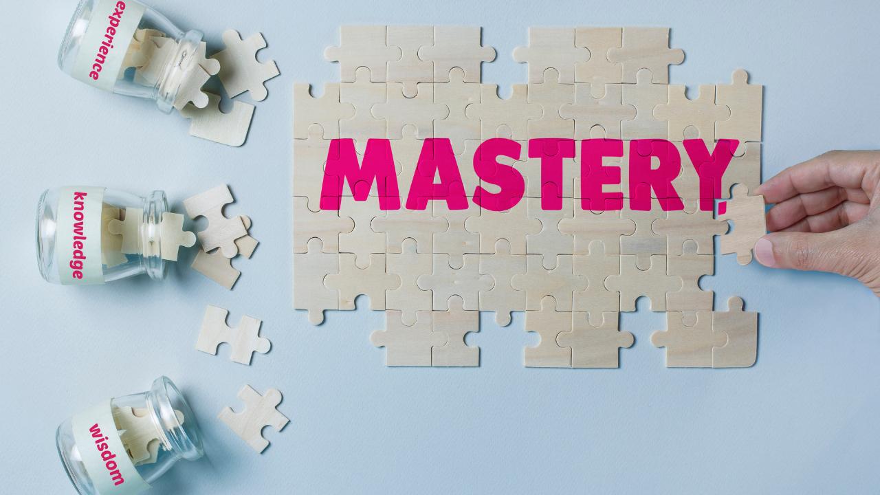 Mastery Puzzle, Wisdom, Experience, Knowledge