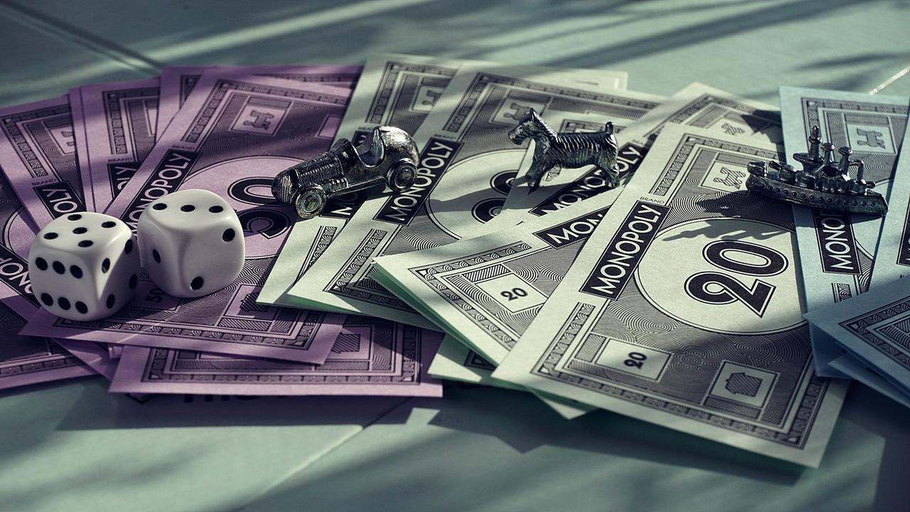 monopoly board games money cash currency