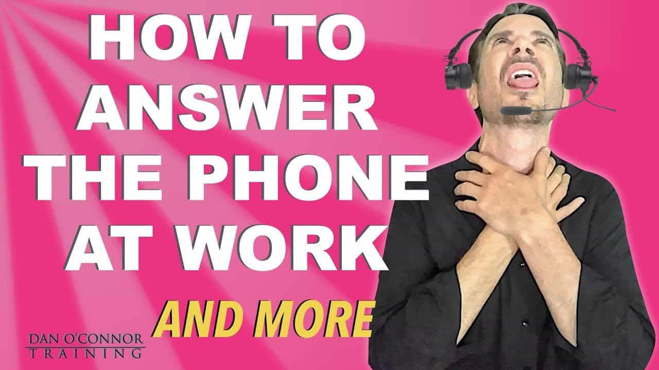 Phone Scripts for Work--How to deliver STELLAR Customer Phone Service