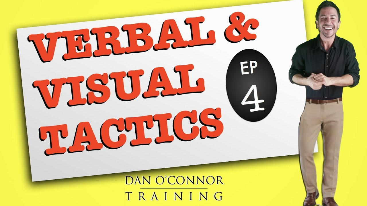 free video training on body language and other visual tactics