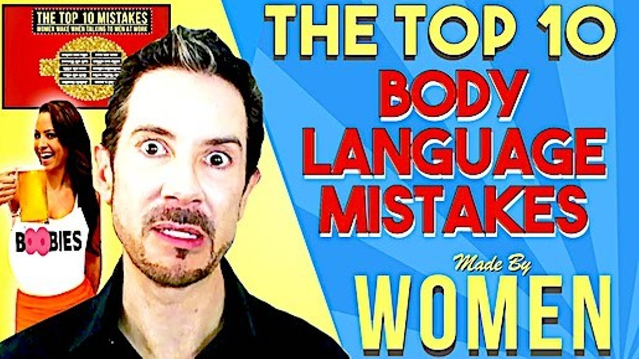 the top 10 mistakes women make when communicating with men at work