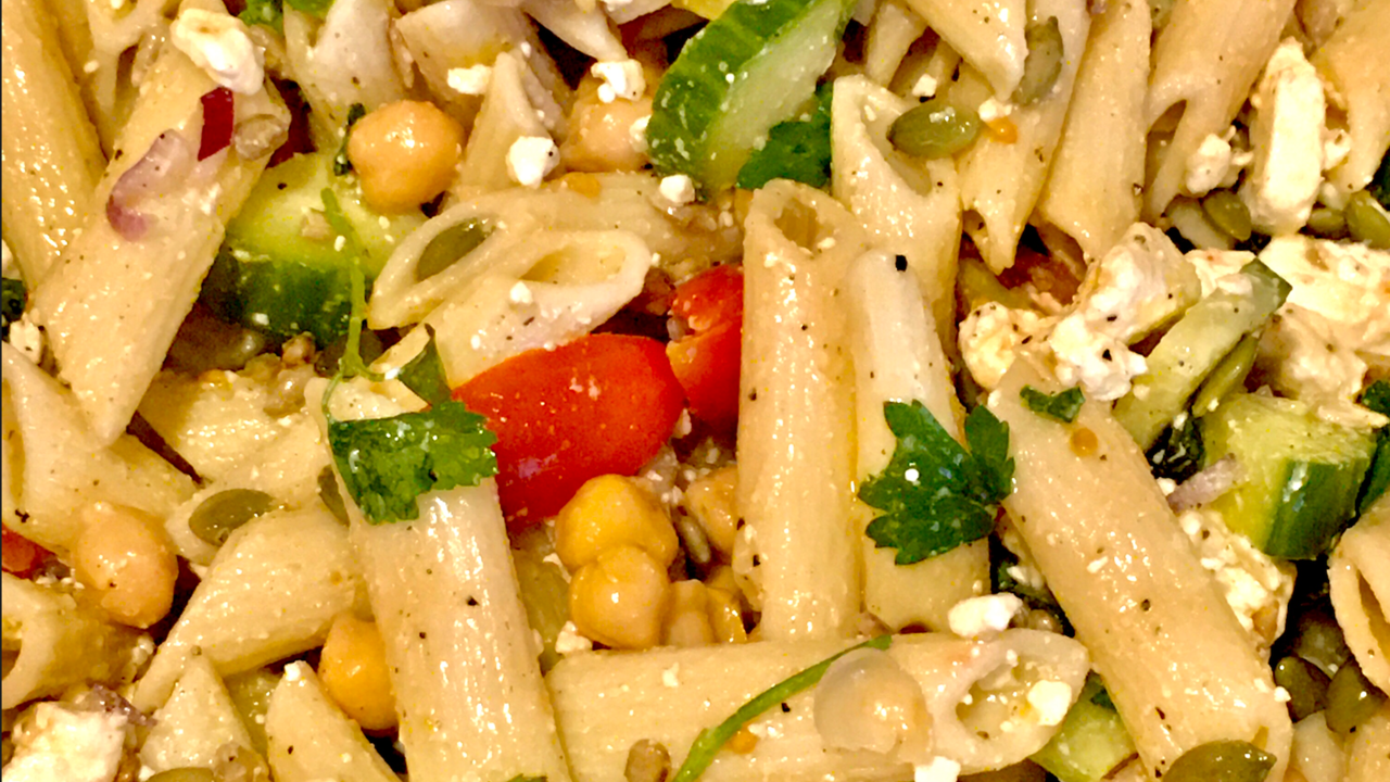 Loves Kitchen Greek Pasta Salad Recipe
