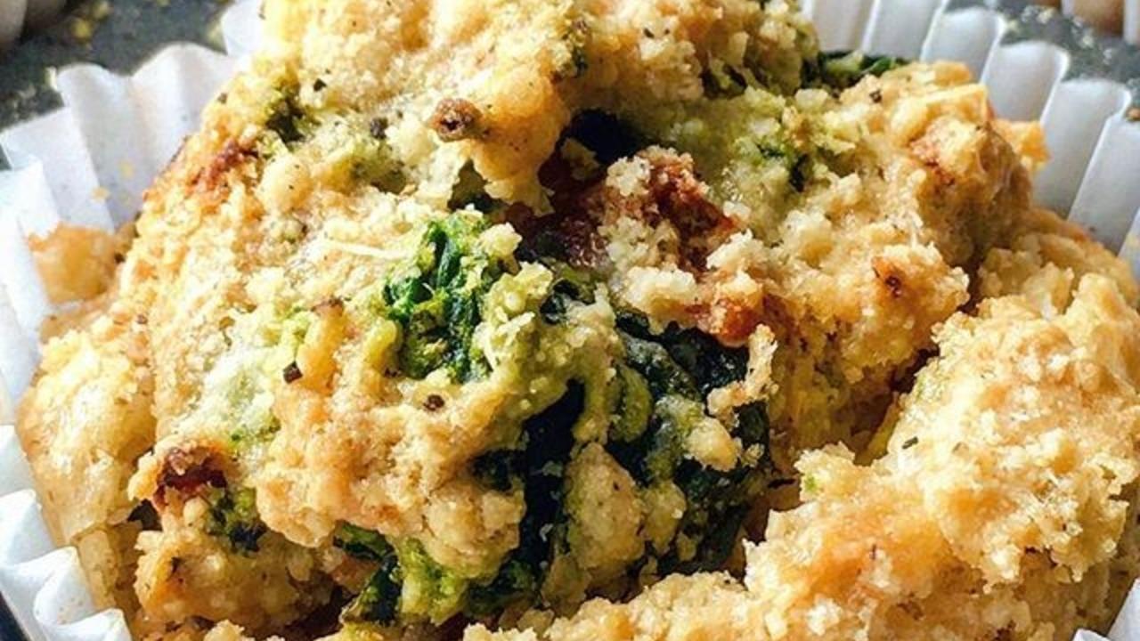 Tomato & Spinach Muffins (gluten free) Recipe