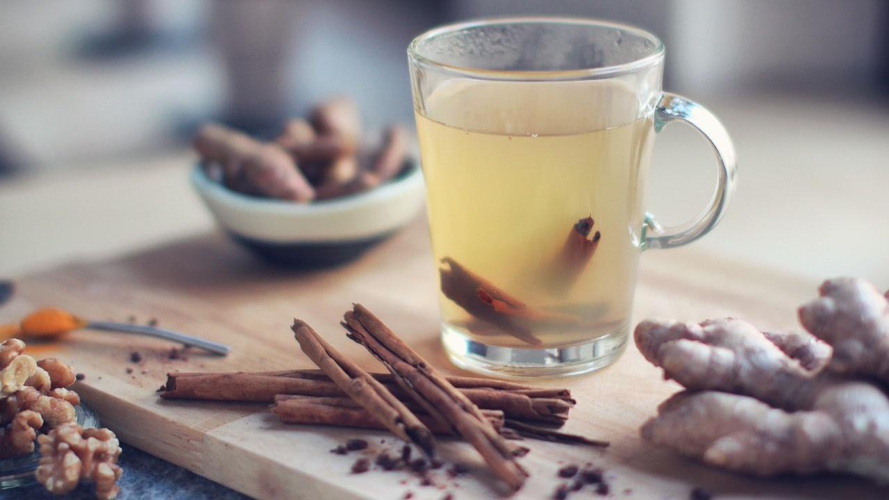 diet for cancer patients - ginger tea