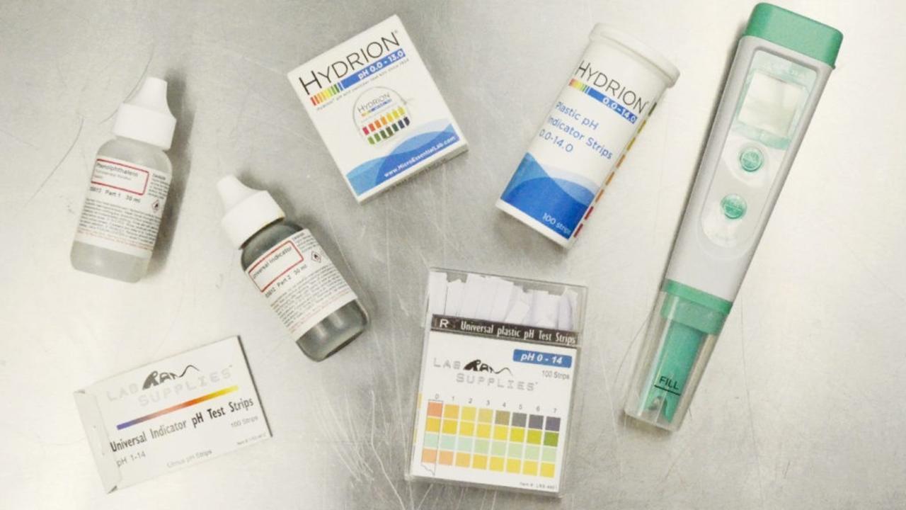 PH testing tools