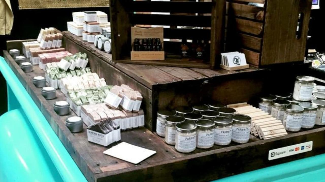 Naked Goat Soap Co. Craft Show Display