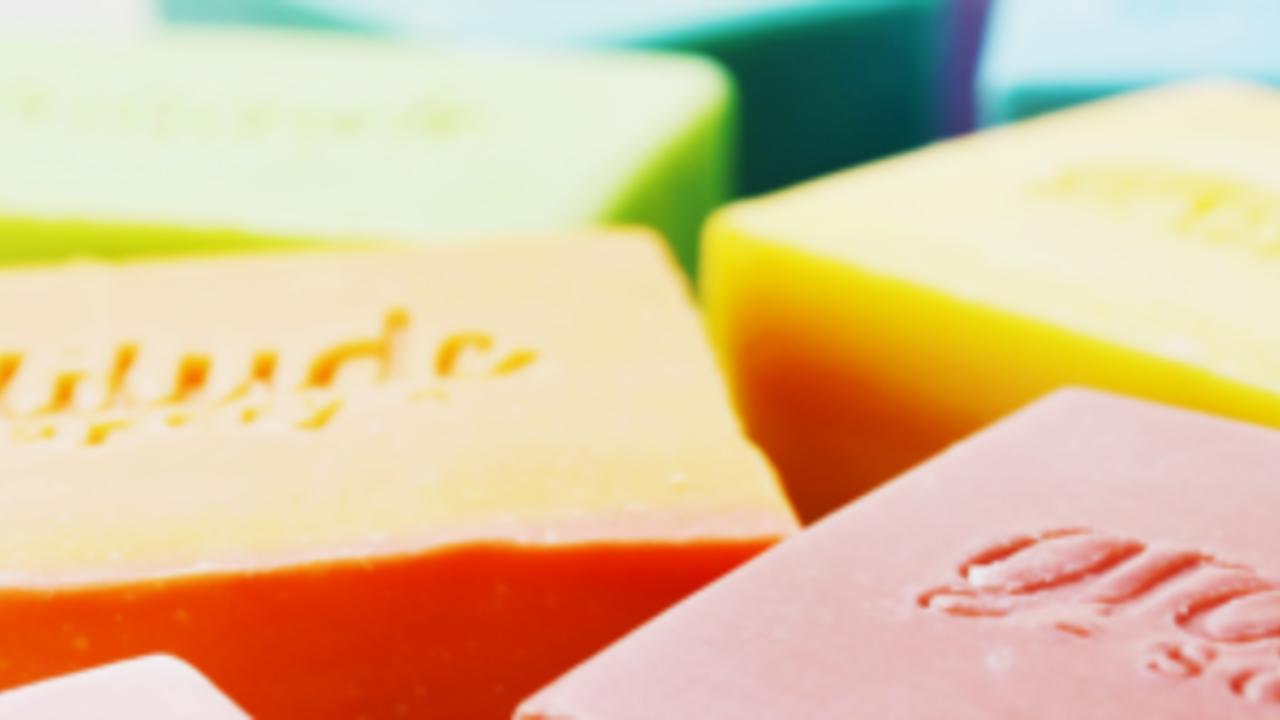 bars of soap from gratitude soapery