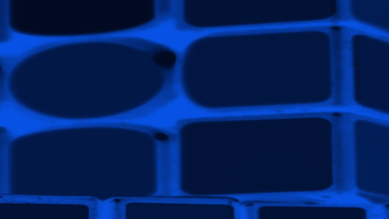 Bricks an Mortar deep blue