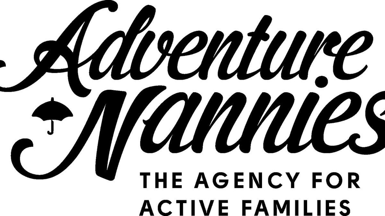 Adventure Nannies Logo Black & White