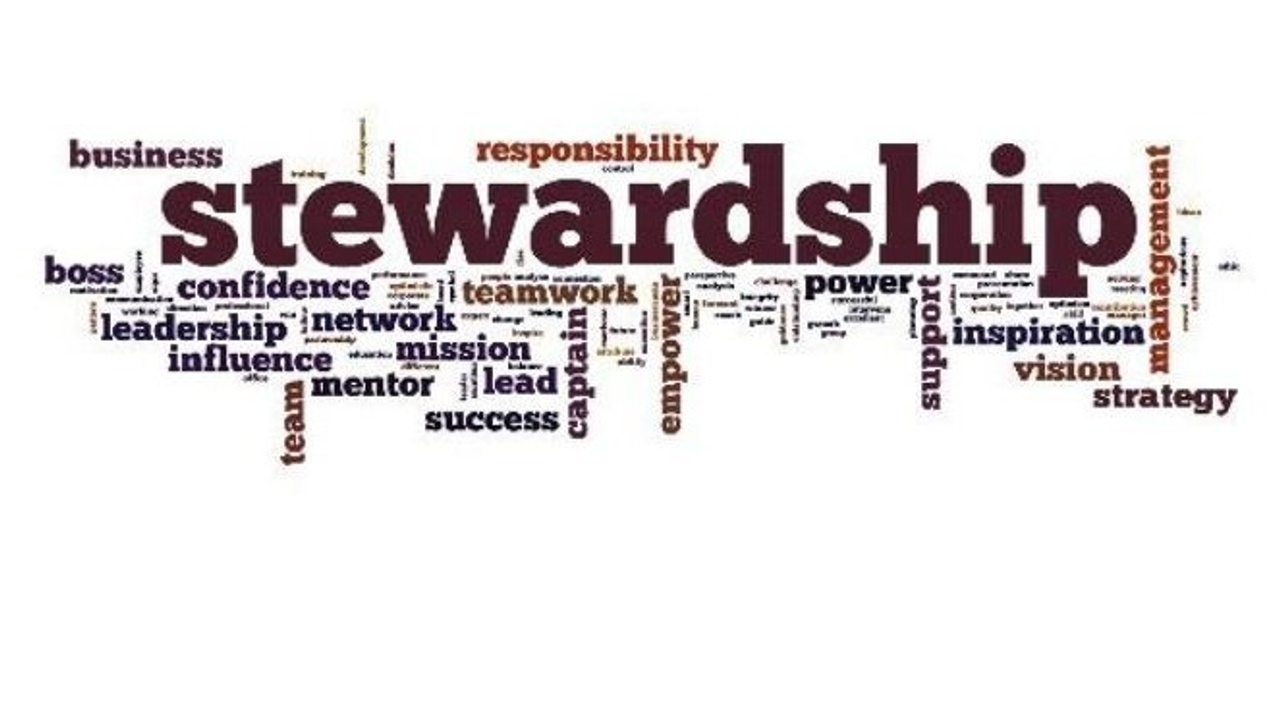The Principles of Being a Good Steward