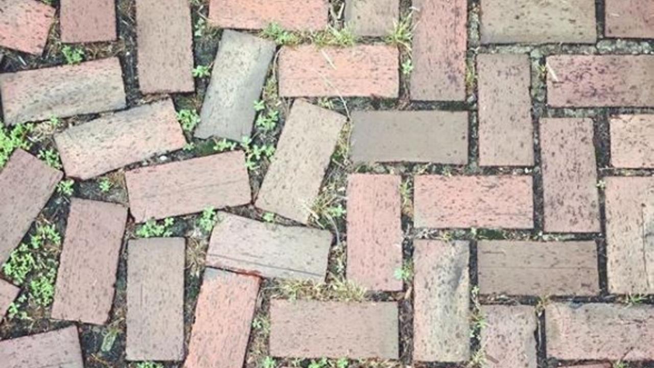 herringbone brick pattern