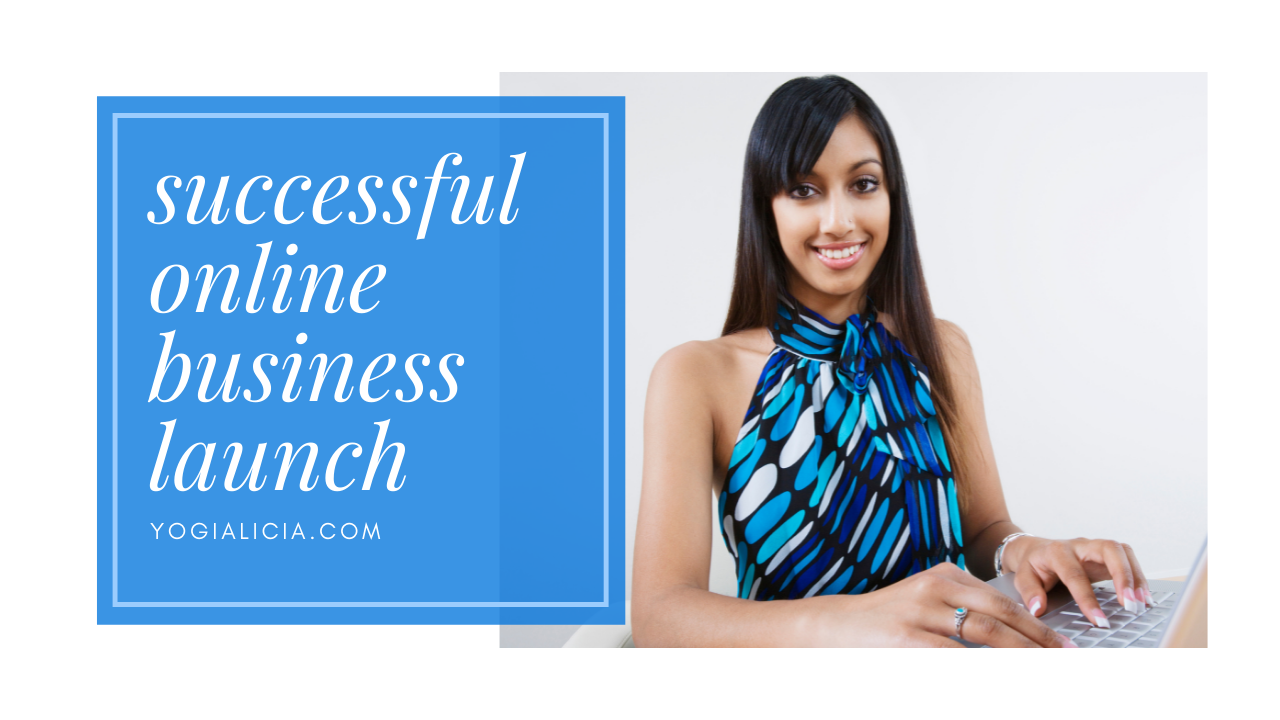 How to Launch a Successful Online Business with Dr. Alicia Saldenha of YogiAlicia.com