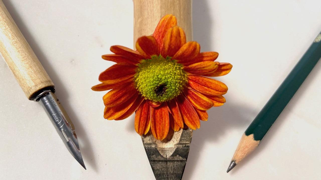 sketching pencil, ink pens