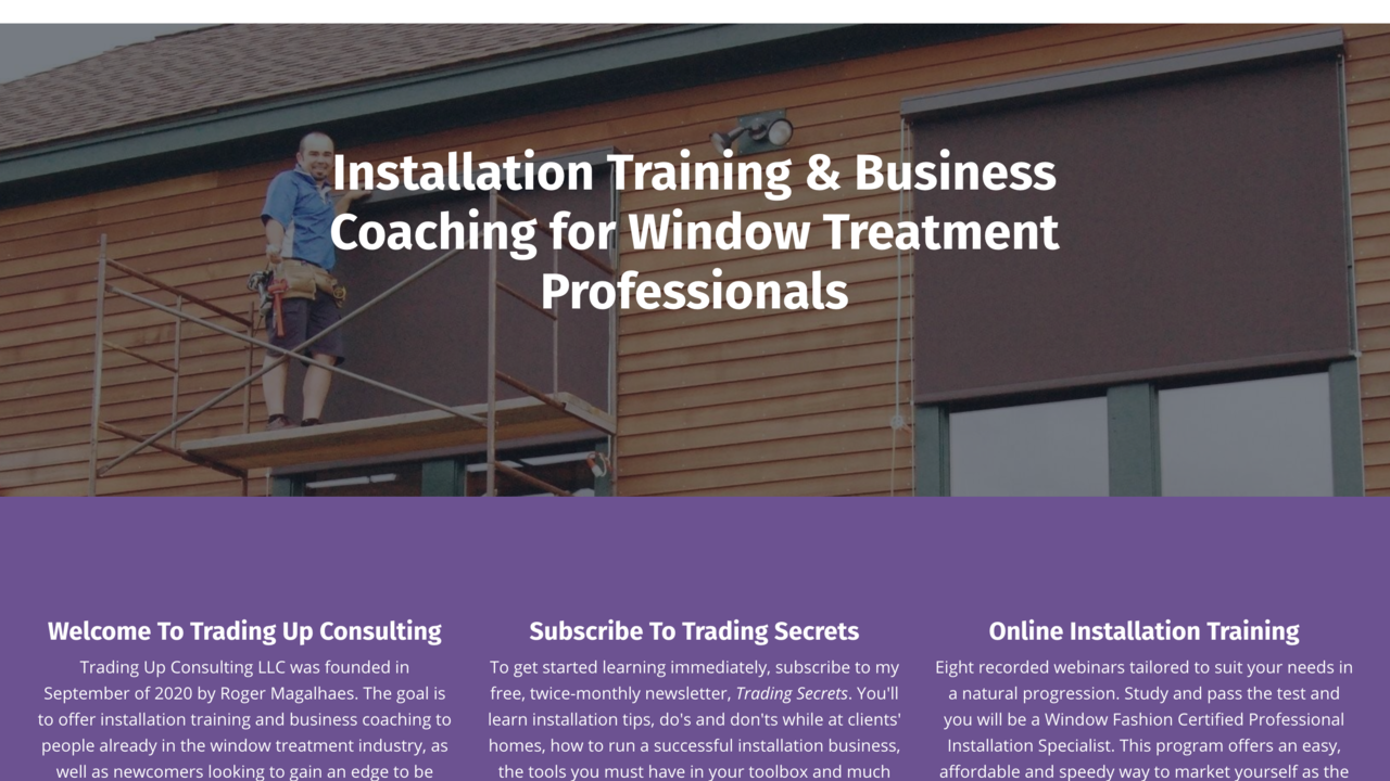 Trading up consulting