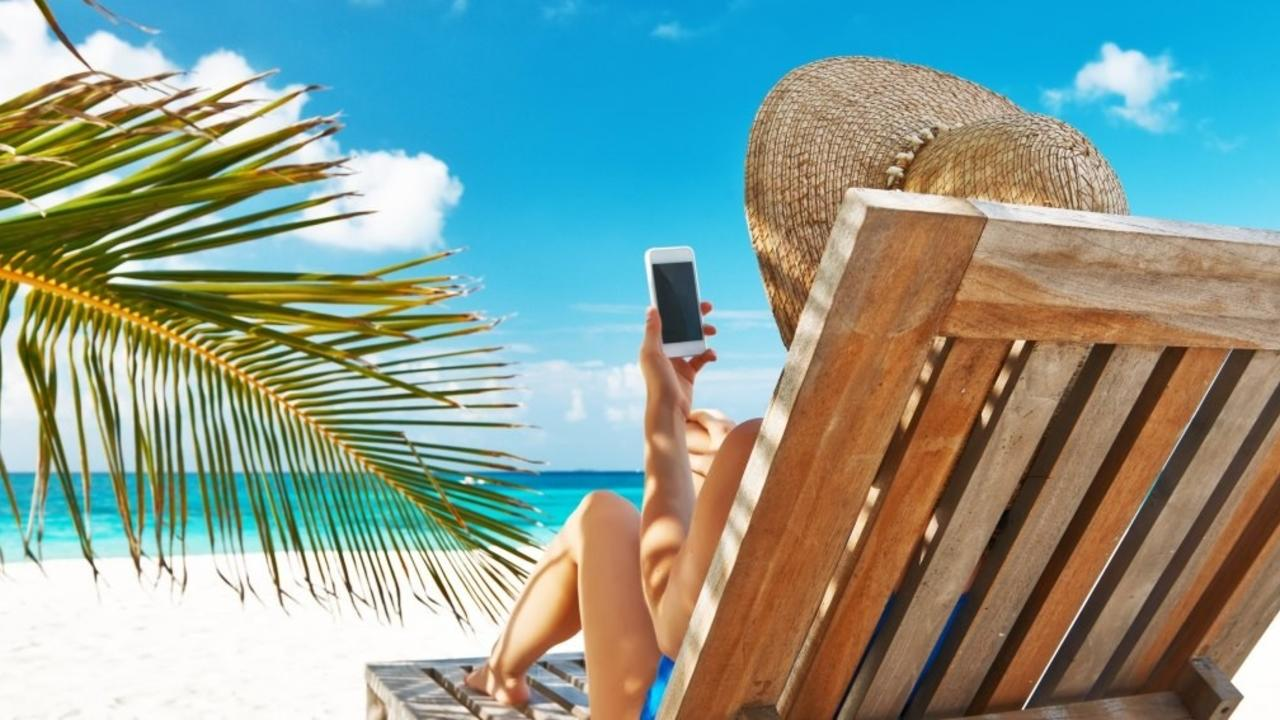 Virtual Assistant enjoying summer