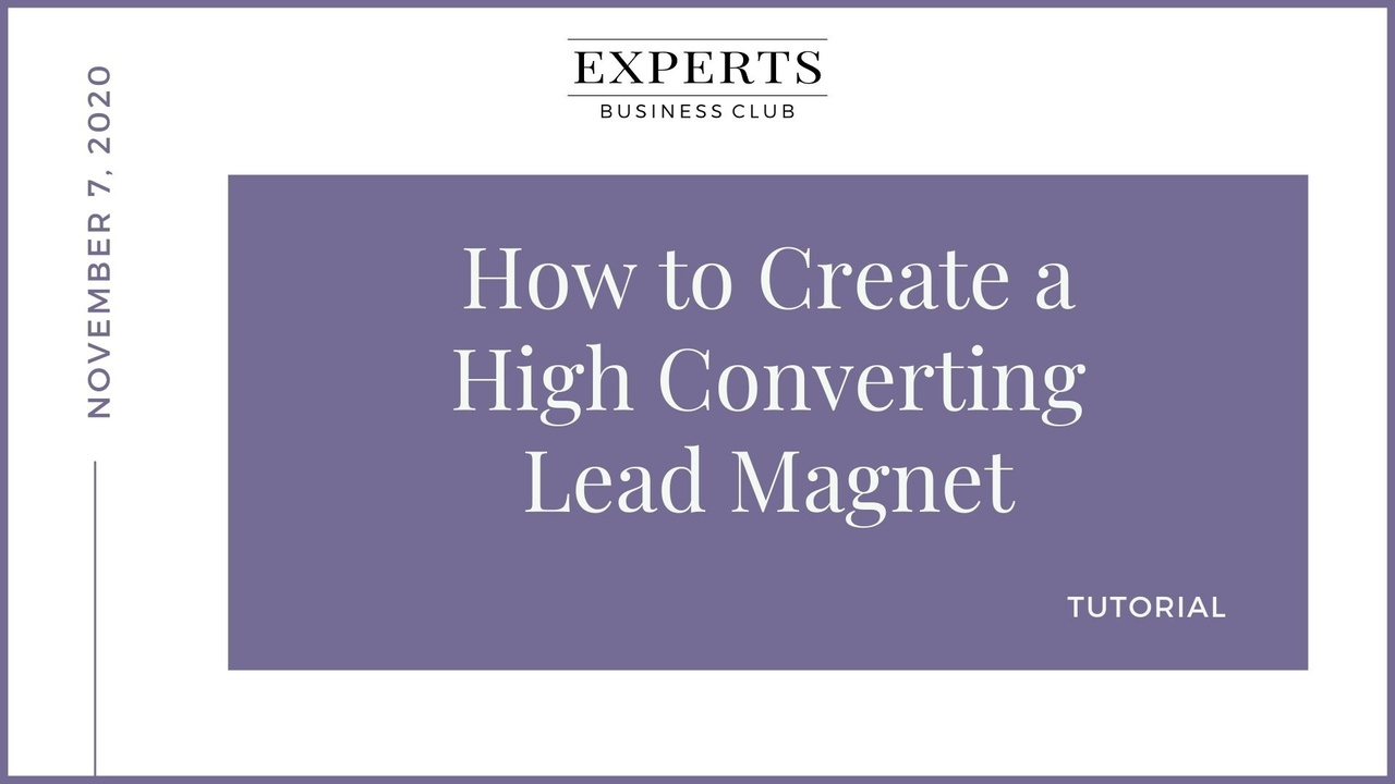 Lead Magnets