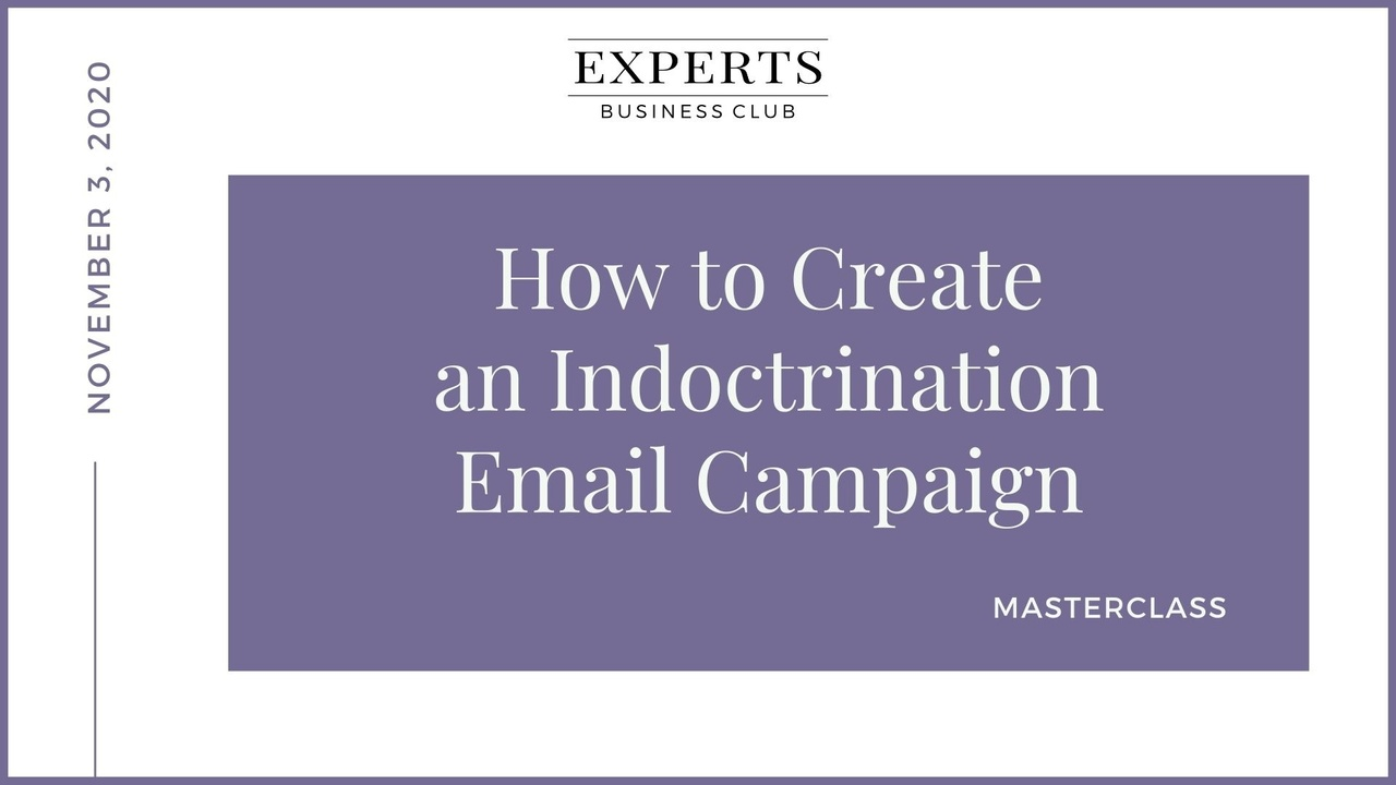 Email Indoctrination Campaign