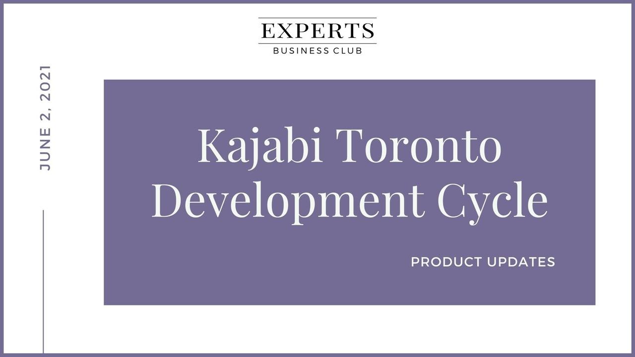 Kajabi Product Update