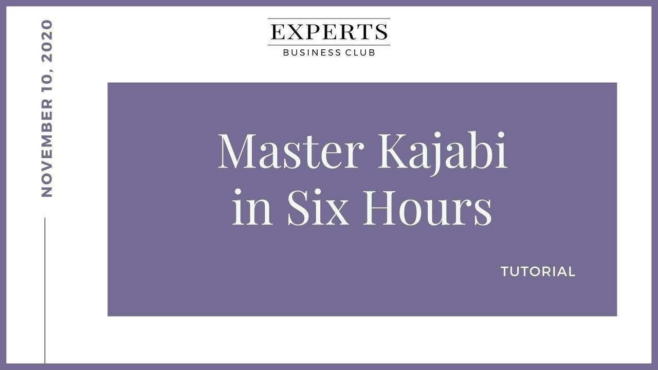Kajabi Training