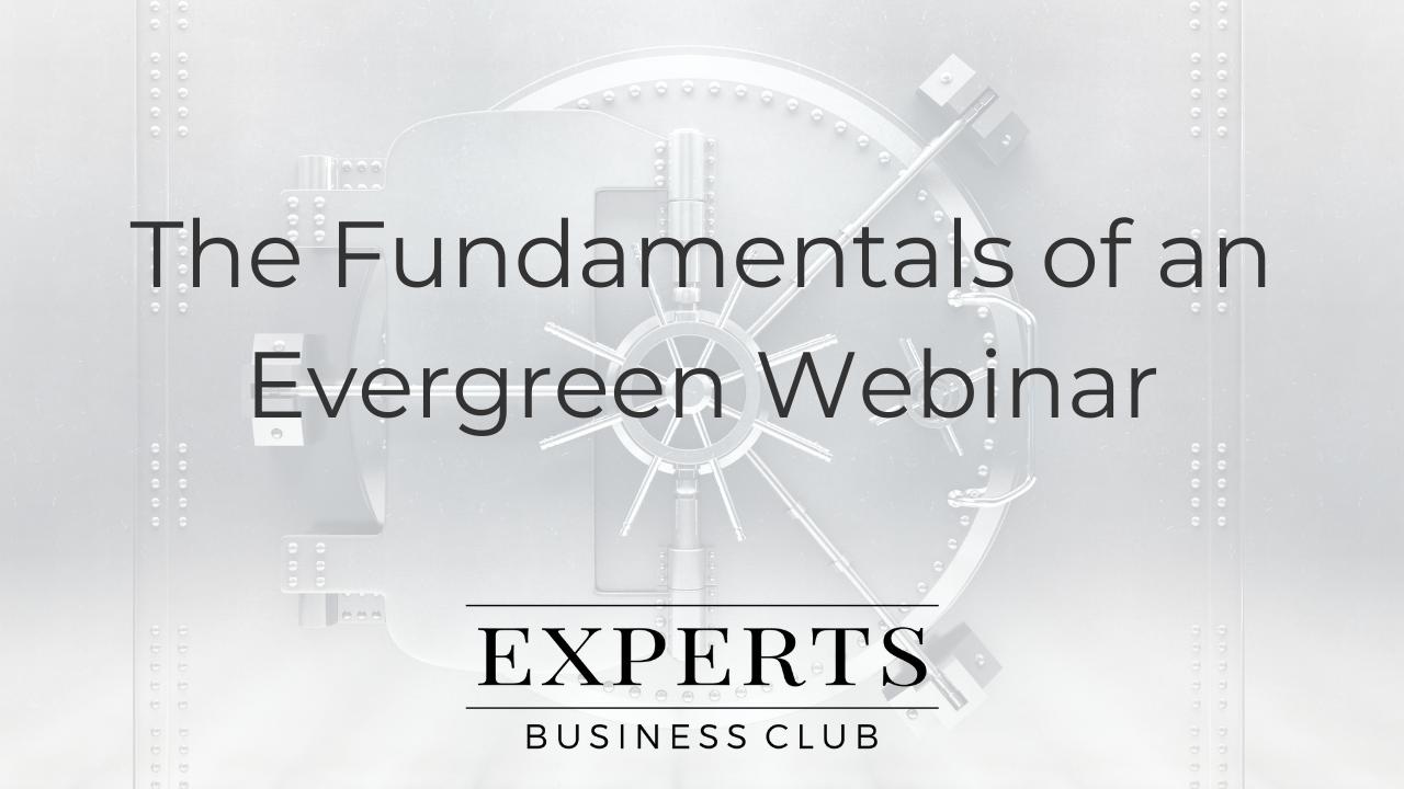 Evergreen Webinar